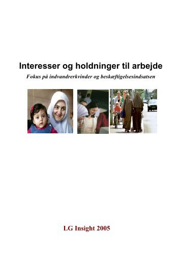 Interesser og holdninger til arbejde - Ny i Danmark