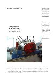 SONJA DORIS - Søfartsstyrelsen