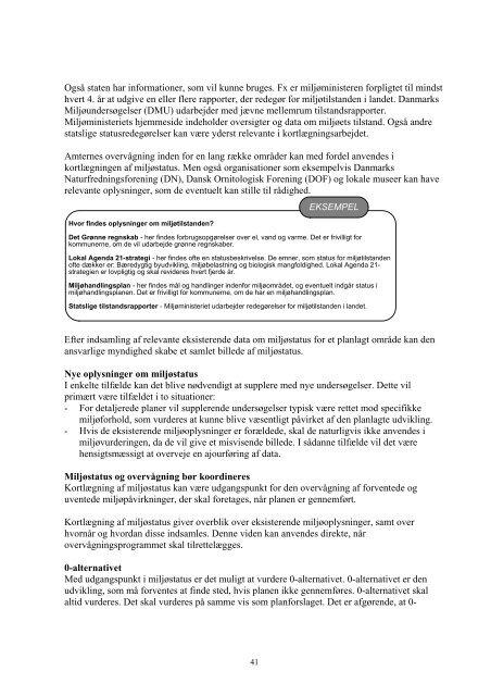 Vejledning om miljøvurdering af planer og ... - Naturstyrelsen