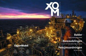 Balder Boreavdelingen Pensjonsordningen - ExxonMobil