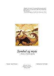 Symbol og myte i Martin A. Hansens digtning - Dialektika.dk