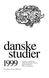 Danske Studier 1999