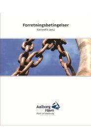 3. skibs- og vareafgift - Aalborg Havn A/S