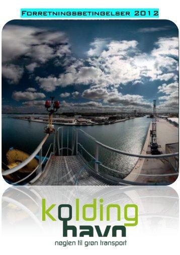 Forretningsbetingelser 2012 - Kolding Havn