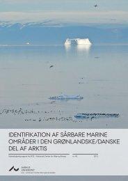 Identifi kation af sårbare marine områder i den grønlandske/danske ...
