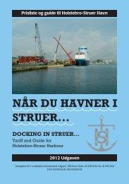 Reglement Trafikhavn (PDF) - Struer Havn