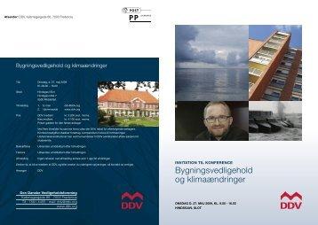 Bygningsvedligehold og klimaændringer - Energiforum Danmark