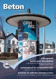Efterspændt beton giver fleksibilitet Gennembrud for ... - Dansk Beton