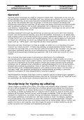 Anna Elise Tilsyns- og vedligeholdelsesplan - Page 2
