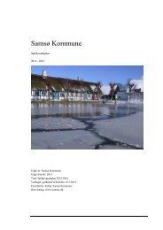 Spildevandsplan 2012-2016 - Samsø Kommune