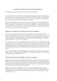 Anvendelse af rottespærrer i kloaksystemerne på Bornholm Af ...