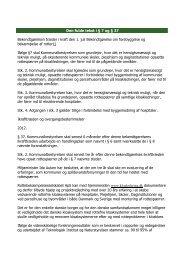 Bekendtgørelse om forebyggelse og bekæmpelse - Kloaksikring i ...