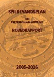 Hovedrapport - Spildevandsplan for Frederikshavn Kommune år ...