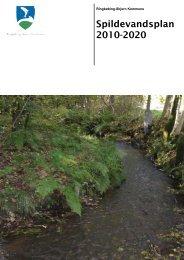 Godkendt Spildevandsplan 2010-2020 - EnviWeb