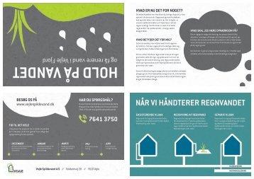 Pjecen kan også ses ved at følge dette link - Vejle Spildevand