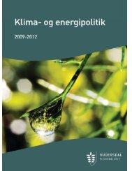 Klima- og energipolitik 2009-12 - Vedbæk Skole