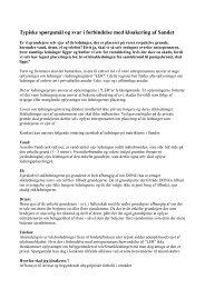 Typiske spørgsmål og svar i forbindelse med kloakering ... - GribVand