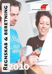 Regnskab & beretning 2010 - Boligselskabet Sjælland