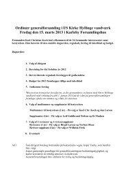 Referat af ordinær generalforsamling for regnskabsåret 2012