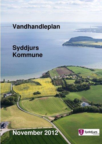 Vandhandleplan Syddjurs Kommune November 2012