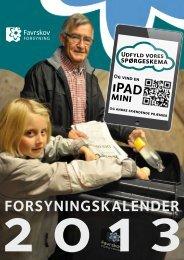 Forsyningskalender 2013 - Favrskov Forsyning