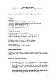 Referat af bestyrelsesmøde den 1/11/10 - AB Strandbo I