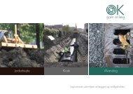 Jordarbejde Kloak Afvanding - OK grøn anlæg as