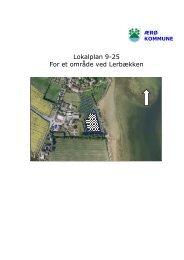 Lokalplan 9-25 For et område ved Lerbækken - Ærø kommune
