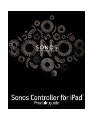 Sonos Controller för iPad - Almando