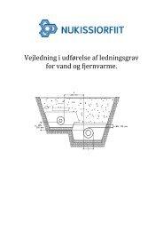 Vejledning i udførelse af ledningsgrav for vand og ... - Nukissiorfiit
