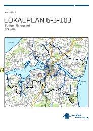 Lokalplan 6-3-103 Boliger, Griegsvej, Frejlev - Aalborg Kommune