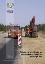 Vejledning om håndtering af overskudsjord i og fra offentlige veje