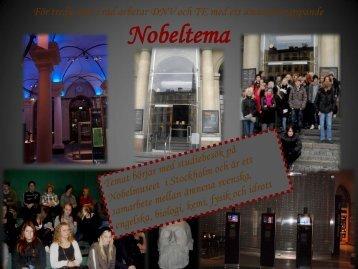 Nobelfest med DNV och TE HT09