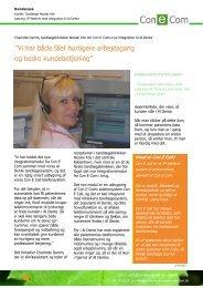 Tandlæge Nicolai Yde udnytter Al Dente journalsystem ... - Con E Call
