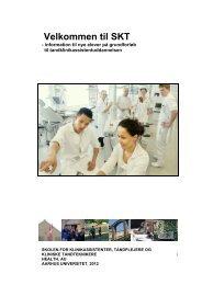 Velkommen til SKT - Skolen for Klinikassistenter, Tandplejere og ...