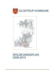 SPILDEVANDSPLAN 2006-2015 GLOSTRUP KOMMUNE