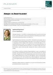 nyhedsbrev fra august 2008 - Plesner
