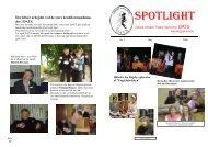 Spotlight 2006 nr. 2 - Sønderjysk Kreds