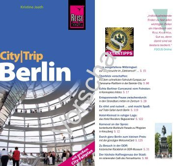 City|trip - Reise Know-How
