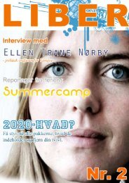 Liber august 2011 - Venstres Ungdom