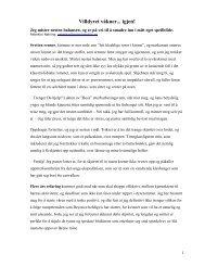 Last ned artikkelen her (pdf) - Om Mitochondria