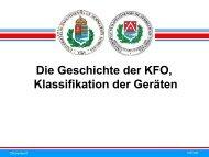 Die Geschichte der KFO, Klassifikation der Geräten - Semmelweis ...