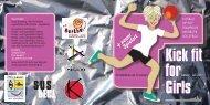 Kick fit for Girls - Jugendamt der Stadt Nürnberg