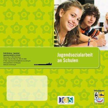 Flyer Jugendsozialarbeit an Schulen - Jugendamt der Stadt Nürnberg
