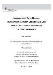 kombiniertes data mining – klassifikation unter verwendung von ...