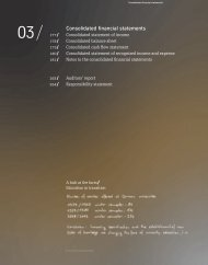 Annual Report 2008/2009 Consolidated Financial Statements