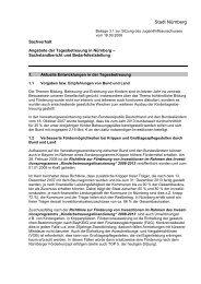 Angebote der Tagesbetreuung - Jugendamt der Stadt Nürnberg