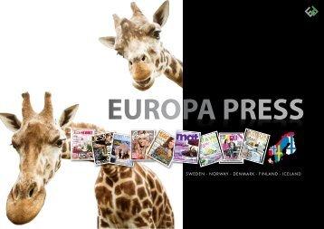 SWEDEN g NORWAY g DENMARK g FINLAND g ... - EuropaPress