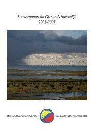 Status för Öresunds Havsmiljö, 2002-2007