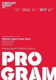 Spansk opera med dans Dirigent: Rafael Frühbeck de Burgos - Dr